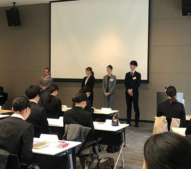 3/26(火)株式会社ワムホールディングス第2回会社説明会が開催されました️️ 沢山の学生さんにお越しいただきまして盛り上がりました  未来のエステティシャンの仲間がこの中にいるかも、、、? 楽しみです