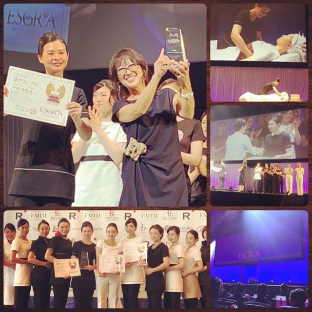 \ESGRA2019/ 『夢や誇りを持ったエステティシャンが 日本を美しくする』  7月2日 第9回エステティックグランプリ グランプリファイナルを、パシフィコ横浜国立大ホールで開催いたしました。  前日セミファイナルに進出した、葛西店仲田が見事グランプリファイナルへのチケット🎟を手に入れ、あの大きなステージへ立ち、準優勝🥈を頂きました!  応援ありがとうございました 【エステティックグランプリ】は、エステティシャンが主役となって、輝ける最高のステージや、お互いに学びあえる場を提供することで、自らの仕事に夢や誇りを持ち、技術や接客の向上と明確な目標を掲げられるようにすることがエステティックグランプリの大きな目的です